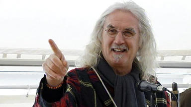 Billy Connolly becomes the new voice of satnav