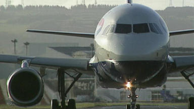 Plane: Police were called to Dublin Airport after staff raised security concerns. (File pic)