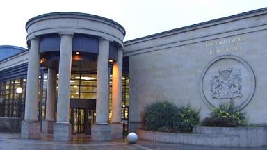 Rage: The High Court in Glasgow heard the case