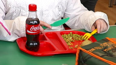 School meals: DO NOT USE: SCHOOLS DON'T ALLOW SOFT DRINKS ANY MORE