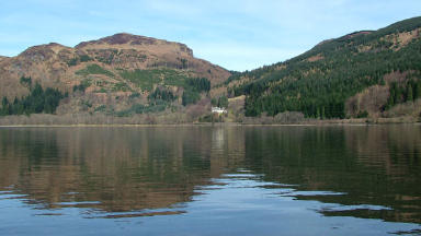 Loch Lubnaig: Road crash happened nearby on the A84.