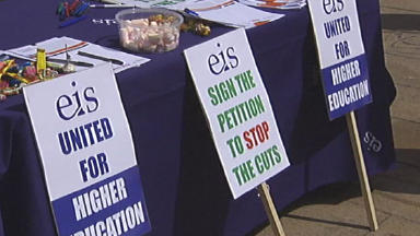 Strike: Members of EIS union at colleges to take industrial action (file pic).