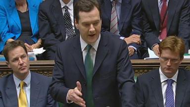 George Osbourne: Announced large tax rises.
