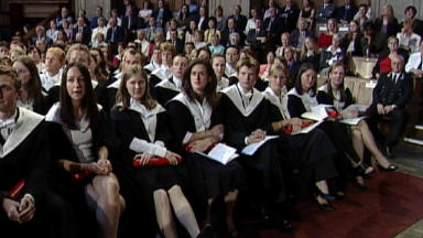 Graduates: UK Government policy 'restrictive'. (file pic)