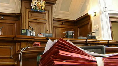 Court: The trial at Edinburgh Sheriff Court continues.