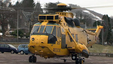 Young girl airlifted after cliff fall