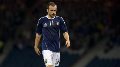 James McFadden made his Scotland debut against South Africa in 2002