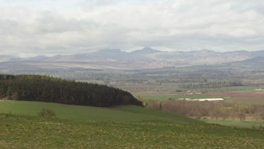 Attack: girl was walking in the Ochil hills