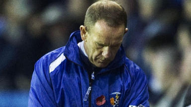 Kilmarnock manager Kenny Shiels finds the view difficult as his side are put to the sword by Inverness CT.