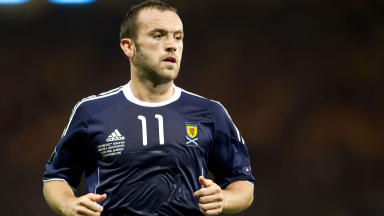 James McFadden returned to first team football with a substitute appearance in Everton's weekend loss at Newcastle.