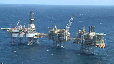 Discovery: oil found in the North Sea