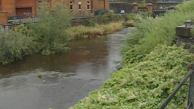 River Kelvin: Police investigating after body found in water.