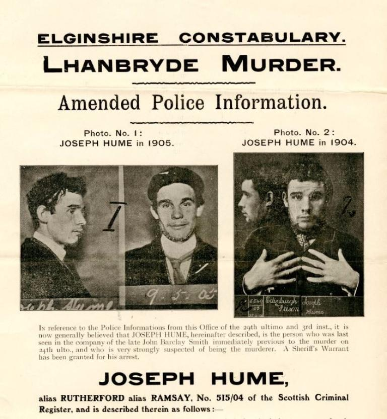 Most wanted Posters of bygone Scots criminals go on show STV – Wanted Criminal Poster