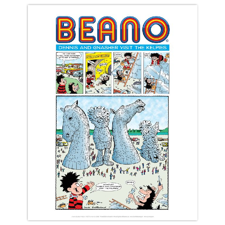 Kelpies To Join Dennis The Menace And Gnasher In The Beano