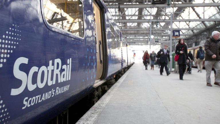 Landslip 'derails train' leaving passengers strand