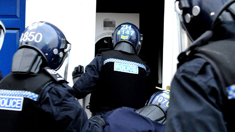 Drugs worth £3m seized in record-breaking police raids