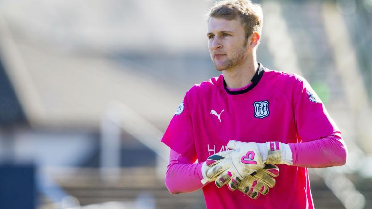Hibs sign goalkeeper Scott Bain on loan from Dundee
