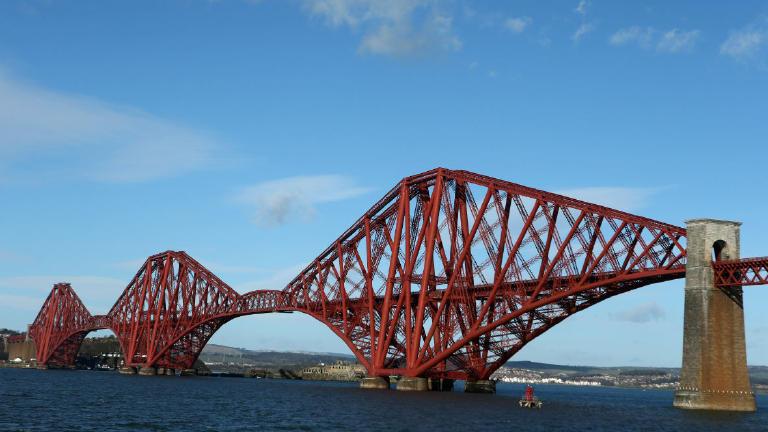 Image result for forth road bridge old