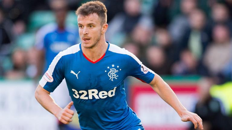 Andy Halliday left out of Rangers Europa League squad