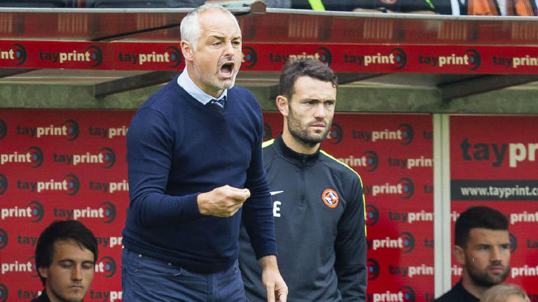 You'll see the real Dundee United by Christmas says boss McKinnon
