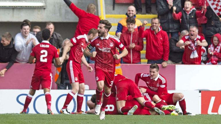 James Maddison strike gives Aberdeen dramatic win over Rangers