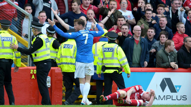 Joe Garner: I could tell Aberdeen and Rangers don't like each other