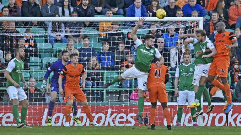 Dundee United boost Championship title hopes with draw at Hibernian