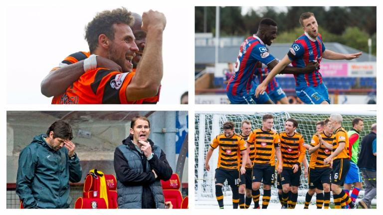 Follow all the action from Saturday afternoon's SPFL fixtures