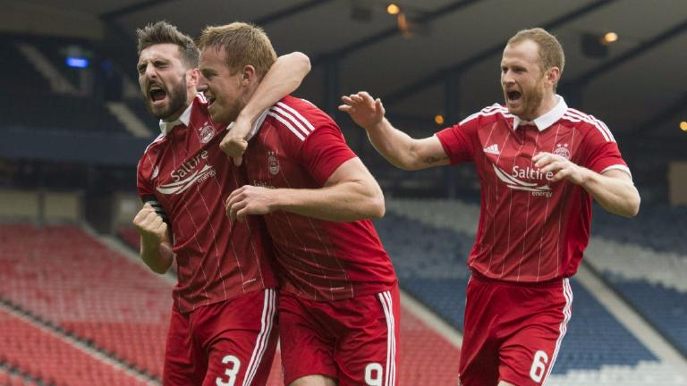 Aberdeen book place in League Cup final with 2-0 win over Morton