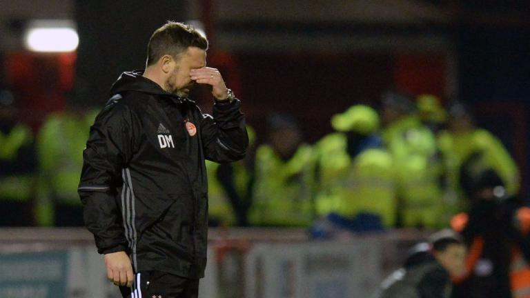 Derek McInnes hits out at Willie Collum's penalty decision
