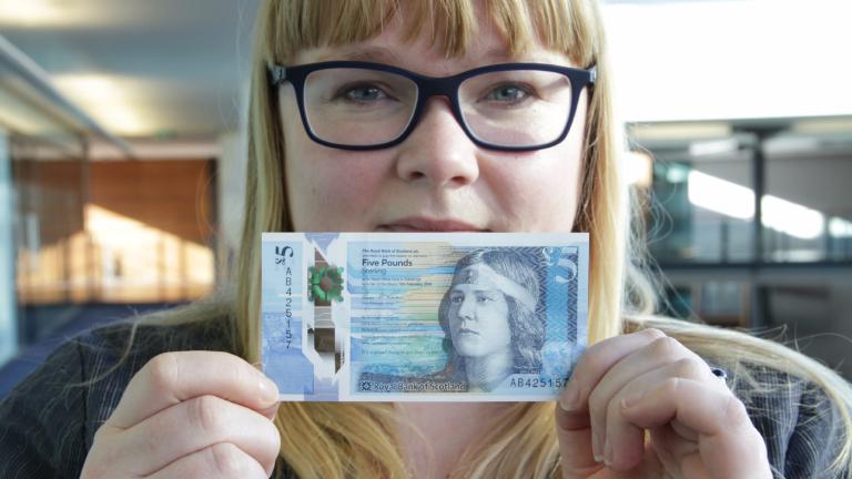 Scottish and English money editorial stock photo. Image of image ...
