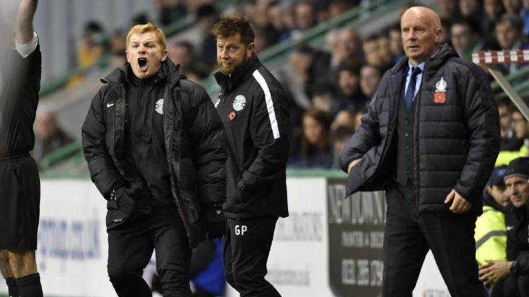 Neil Lennon says Hibs not creative enough in draw with Falkirk