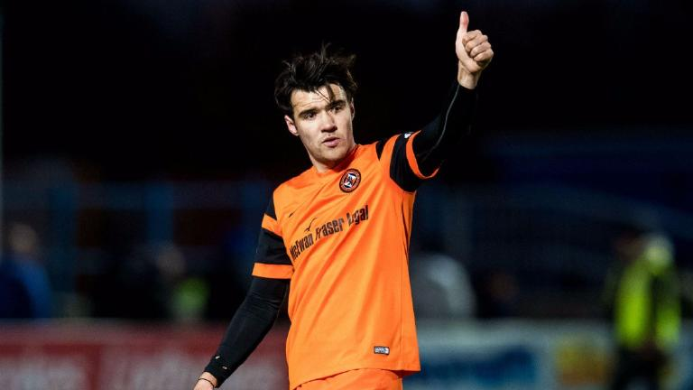 English clubs target January move for Dundee Utd's Scott Fraser