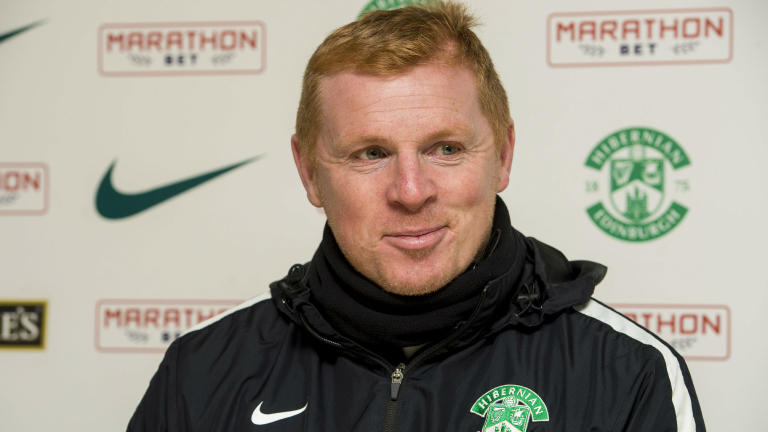 Hibernian boss Neil Lennon welcomes promotion pressure