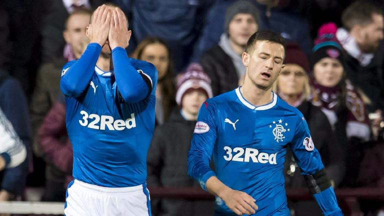 Warburton: Rangers 'were not good enough' against Hearts