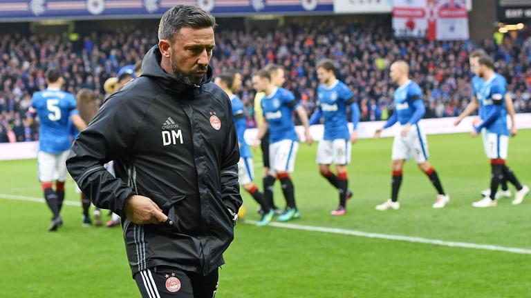 Aberdeen boss calls for calm and unity after 'tough' week