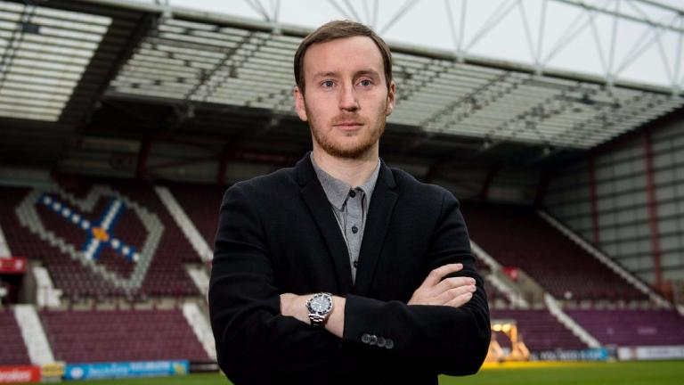 Watch the key moments from Ian Cathro's Tynecastle unveiling