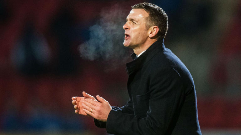 Jim McIntyre not surprised by Dundee form in 'crazy season'