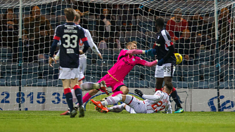 Highlights of the 0-0 draw between Dundee and Ross County