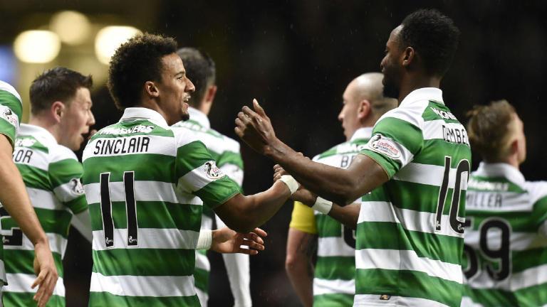Watch Scott Sinclair extend Celtic's unbeaten run to 21 games