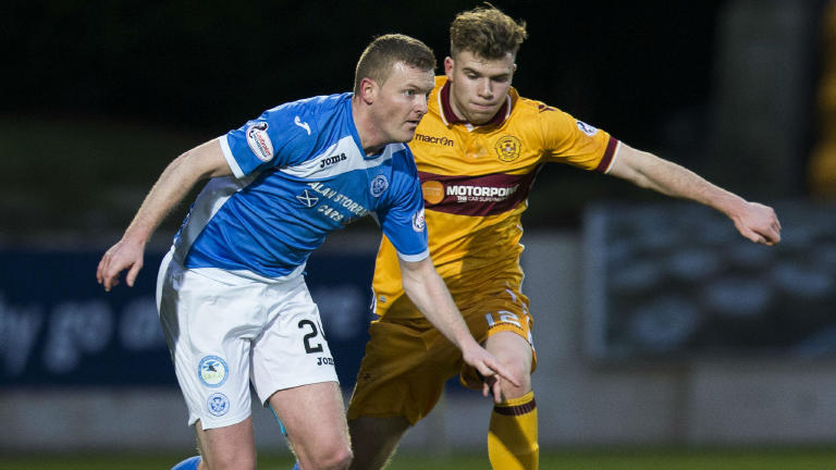 Brian Easton keen to extend his St Johnstone contract