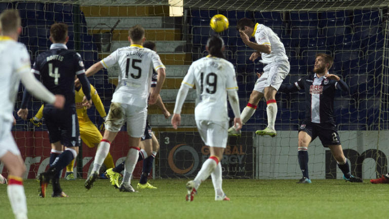 See Partick Thistle climb off bottom spot with win in Dingwall