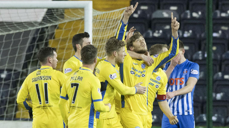 See Murray Davidson give St Johnstone a win at Kilmarnock