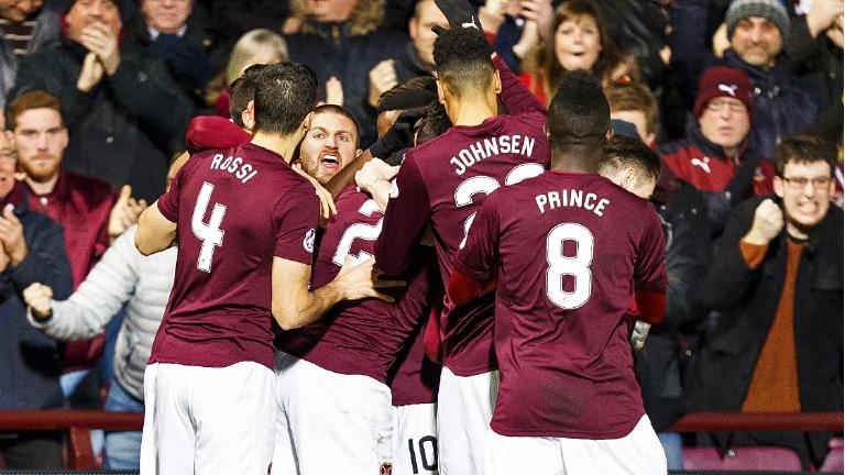 Cathro gets his first win as Hearts thump Kilmarnock