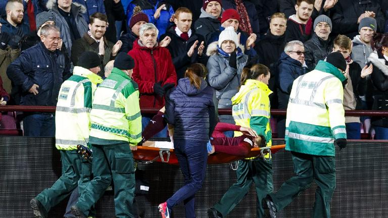 Hearts dealt blow as Paterson ruled out for rest of season