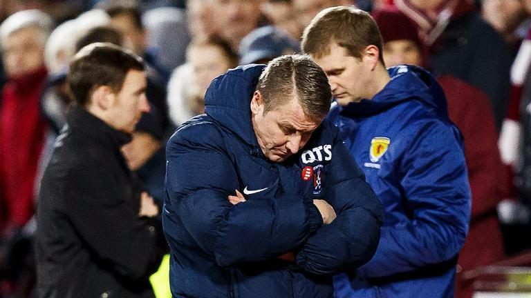 Injury crisis is affecting results, says Lee Clark