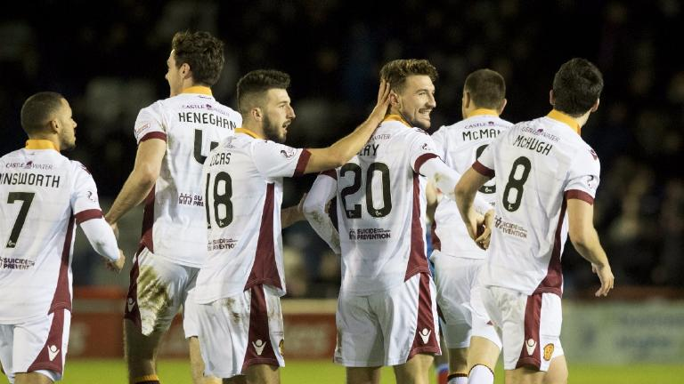 Motherwell stretch Inverness' winless streak to nine games