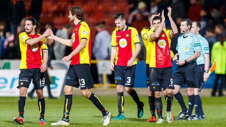 Watch highlights of Partick Thistle 2-0 Dundee