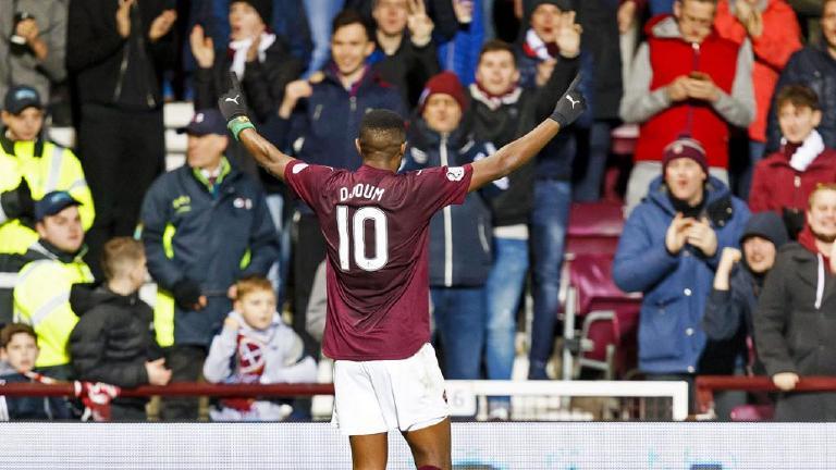 See highlights of Hearts' 4-0 thumping of Kilmarnock