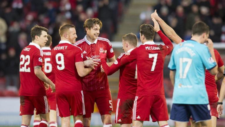 See Aberdeen defeat Hamilton 2-1 at Pittodrie